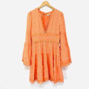 Capulet Talia Mini Dress In Cantaloupe